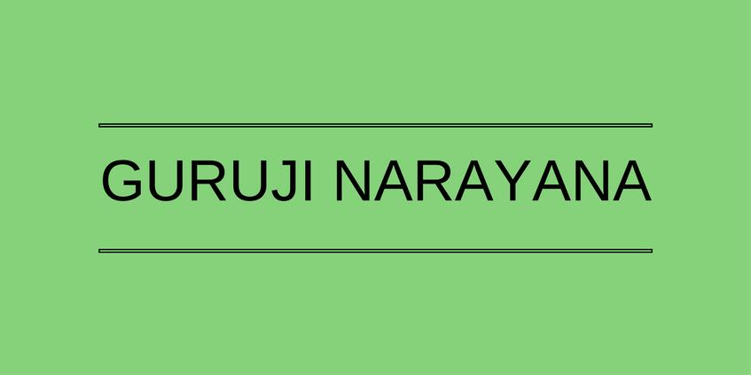 Guruji Narayana